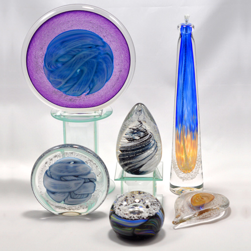 Fire Studio Memorial Glass Art