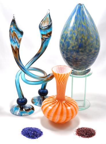 Fire Studio Glass Unity Sand Ceremony Art